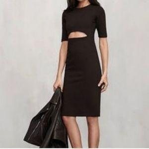 Reformation Evita Dress in Black